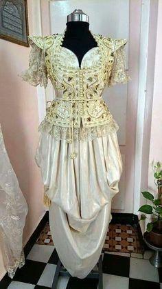 Algerian bridal dress