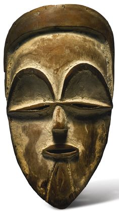 Vuvi Mask, Gabon   Lot   Sotheby's  via Auction review: Sotheby's, New York, 15 May 2015 http://brunoclaessens.com/2015/05/auction-review-sothebys-new-york-15-may-2015/#.VV3P8_ntlHw