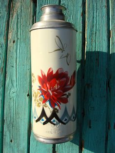 Vintage White Chinese Rose Thermos / vintage от OldMoscowVintage