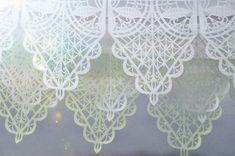 Wedding garland VIVALDI (3 banners) Custom Color Papel Picado Bunting on Etsy, $140.00