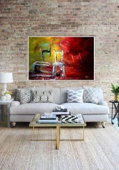 Buy Bright acrylic on canva., Acrylic painting by Alina Run-Latowska on Artfinder. Discover thousands of other original paintings, prints, sculptures and photography from independent artists. Outdoor Sofa, Outdoor Furniture, Outdoor Decor, Original Paintings, Sculptures, Bright, The Originals, Canvas, Prints