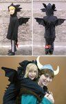 A little Toothless Costume by ~Skylanth on deviantART