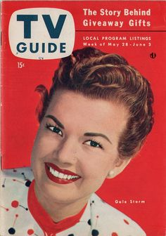 "Gale Storm of ""My Little Margie""  May 28-June 3 1954"