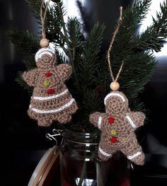 christmas decorations gingerbread man crochet free pattern