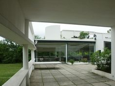 Image result for corbusier courtyard