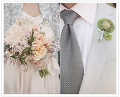 Gorgeous mix of grey and pale pink