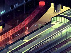 GONE.26 by RomainTrystram #Design Popular #Dribbble #shots