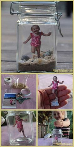 Top 21 DIY Memory Jar Ideas to Keep The Best Memories A great way to capture the memories of Summer and the beach. The post Top 21 DIY Memory Jar Ideas to Keep The Best Memories appeared first on Summer Diy. Seashell Crafts, Beach Crafts, Fun Crafts, Mason Jar Crafts, Bottle Crafts, Mason Jars, Diy Gifts For Mom, Mothers Day Crafts For Kids, Homemade Mothers Day Gifts
