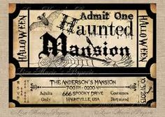 image result for creative halloween invitation - Creative Halloween Invitations