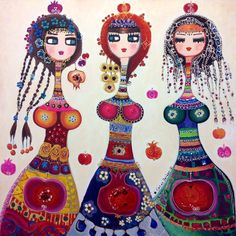 Paintings by Canan Berber