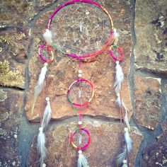 In-Joy Dreamcatcher by LunaSageDesigns on Etsy