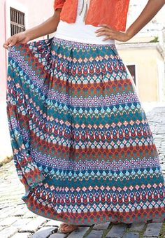 I own the skirt and I love it like crazy! I can't wait for it to get cold again so I can start wearing it again!
