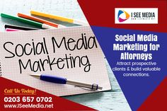 Social media marketing for attorneys is a great tool to connect with more clients and increase customer experience. We are equipped with an experienced social media team and tools to manage social media for attorney in London. We can help you build notable presence on popular social media platforms such as Facebook, Twitter, and Instagram. Social Media Marketing Agency, Digital Marketing Strategy, Digital Marketing Services, Business Marketing, Top Social Media, Social Media Company, Social Media Services, Set Up Account, Social Media Training
