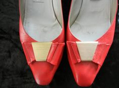 4831e669a3c3 Vintage Roberto Capucci Italian Leather Mad Men Joan Holloway Red Dress  Shoes Size 7 Shoes Wedding Shoes Heels Pin Up Burlesque Rockabilly