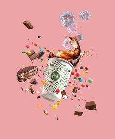 Food Graphic Design, Web Design, Freelance Graphic Design, Amazing Food Photography, Color Photography, Photography Illustration, Advertising Photography, Ads Creative, Photoshop Design