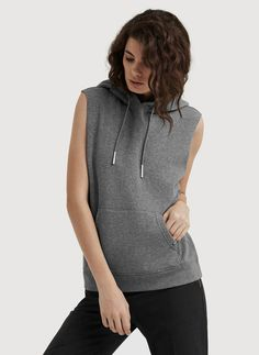 Shop for the Rec Sleeveless Hoodie at Kit and Ace. Kit and Ace provides technical clothing for men and women.