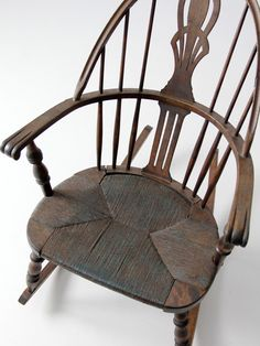 Antique Heywood Brothers And Wakefield Co Wicker Baby