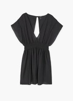 Vestido cintura elástica