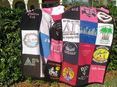 Quilt to make with all those t-shirts!