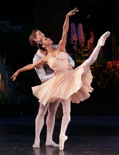 Misty Copeland & Joseph Gordon perform Balanchine's Tschaikovsky Pas de Deux. Choreography © The George Balanchine Trust. Photo © Erin Baiano