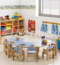 Software Interior Design Product ID: 3343529675 Childcare Rooms, Daycare Rooms, Home Daycare, Kindergarten Interior, Kindergarten Design, Kindergarten Classroom, Kindergarten Tables, Preschool Furniture, Preschool Rooms
