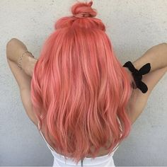 Go pink green blue or any other hue! We can do all sorts of fun vibrant colors! Hair by @tayygreenn . . . . . . . #haircolor #haircut #colorist #colorfulhair #cosmetology #cosmetologyschool #cosmolife #hairstylist #pinkhair #beautyschool #beauty #hairschool #haircare #healthyhair