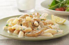 Creamy Lemon-Chicken Pasta recipe