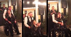 Dot Crosby was told she had 2 weeks left to live, but she vowed to fulfill her last dying wish. 10 weeks later, Dot and her son, Tyler, joined together at his wedding for this tear-filled dance. I don't think there's a dry eye left in the place.