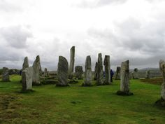 standing stones scotland | ... Put Your Hand on the Center Stone of the Standing Stones of Callanish