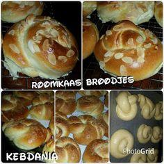 Cook & Bake with Kebdania: Brioche broodjes met cocos en amandelschaafsel. Doughnut, Hamburger, Muffin, Homemade, Baking, Breakfast, Desserts, Ramadan, Breads
