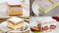Najkrémovejšia klasika: Krémeš   Recepty.sk Vanilla Cake, Cheesecake, Deserts, Food, 3, Cheesecakes, Essen, Postres, Meals