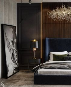 Inspirational ideas about Interior, Interior Design and Home Decorating Style for Living Room, Bedroom, Kitchen and the entire home. Curated selection of home decor products. Luxury Bedroom Design, Master Bedroom Interior, Home Bedroom, Modern Bedroom, Interior Design, Traditional Bedroom Decor, Home And Deco, Luxurious Bedrooms, Decoration