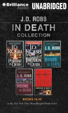 J. D. Robb In Death Collection 4: Portrait in Death, Imitation in Death, Divided in Death, Visions in Death, Survivor in Death (In Death Series) by J. D. Robb et al., http://www.amazon.com/dp/1491518375/ref=cm_sw_r_pi_dp_TtIfub0JECGRM
