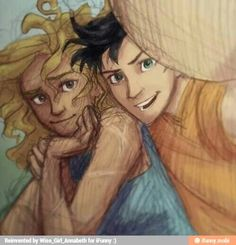 Percabeth selfie! Isn't that just adorable!