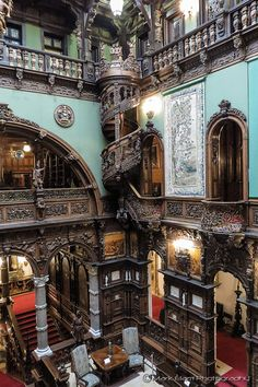Peleş Castle (The Grand Hall), Sinaia, Romania