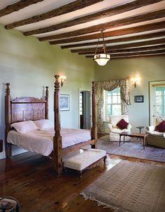 Beautiful Master bedroom with amazing Bermuda cedar bed