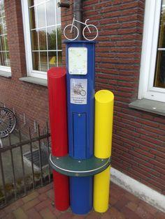 E-bike charging station, Germany