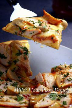 Millet Flour Pizza Dough Full Recipe on FoodForNet.com