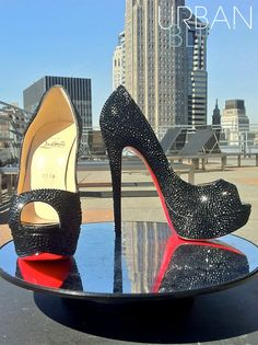Urban Bling Christian Louboutin Lady Peep - OH YES!