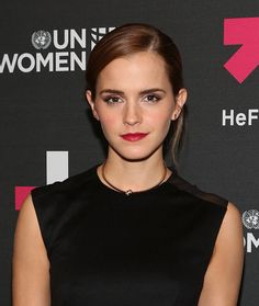 Emma Watson attends UN Women's 'HeForShe' VIP After Party at The Peninsula Hotel on September 20 2014 in New York City.