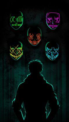 The Masks iPhone Wallpaper Glitch Wallpaper, Joker Iphone Wallpaper, Smoke Wallpaper, Hacker Wallpaper, Hipster Wallpaper, Graffiti Wallpaper, Dark Wallpaper, Screen Wallpaper, Wallpaper Backgrounds