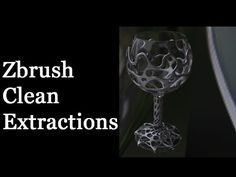 Zbrush - Clean Extractions - YouTube