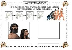 Recursos Infantiles: Proyecto Prehistoria Science Biology, Social Science, School Projects, Projects For Kids, Anthropology, Social Studies, Geography, Gallery Wall, Education
