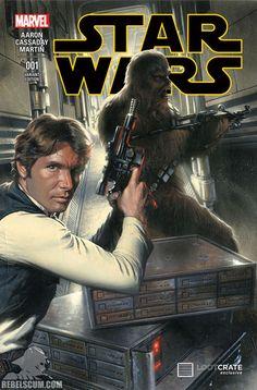 Star Wars Issue # 1 --Gabriele Dell' Otto variant