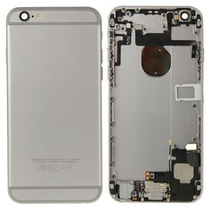 [USD43.63] [EUR40.08] [GBP31.11] iPartsBuy Full Housing Replacement Back Cover for iPhone 6(Grey)