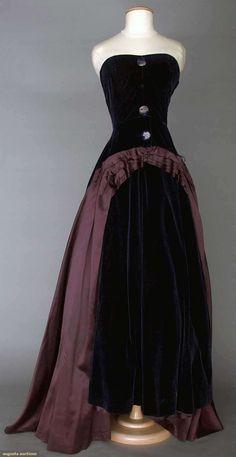 1940s Schiaparelli Gown.