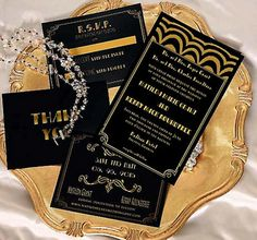 White and Gold Wedding. Gatsby inspired
