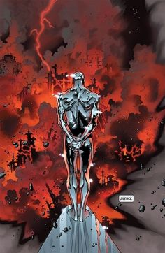Silver Surfer by Olivier Coipel More