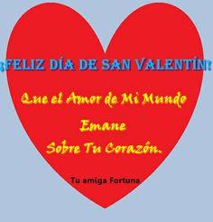 Que el Amor de Mi Mundo Emane sobre Tu Corazon. Feliz dia de la Amistad y del Amor!