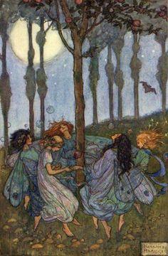 Florence Susan Harrison 1877 - 1955  Elfin Song, illustrated 1912